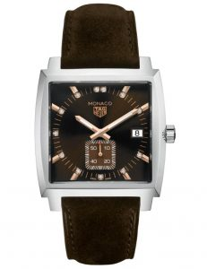 The superb fake TAG Heuer Monaco WAW131C.FC6419 are designed for females.