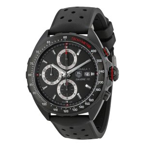 The 44 mm copy TAG Heuer Formula 1 CAZ2011.FT8024 watches have black dials.