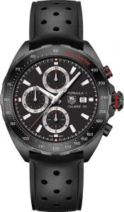 The sturdy fake TAG Heuer Formula 1 CAZ2011.FT8024 watches are made from stainless steel.