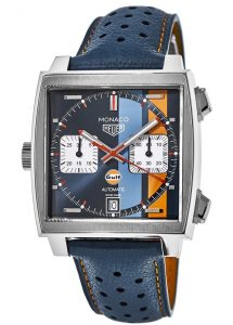 The durable replica TAG Heuer Monaco CAW211R.FC6401 watches are made from stainless steel.