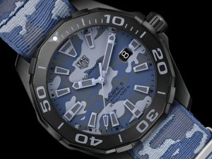 The durable fake TAG Heuer Aquaracer WAY208D.FC8221 watches can guarantee water resistance to 300 meters.