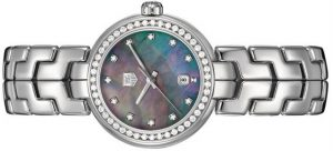The durable fake TAG Heuer Link WAT1419.BA0954 watches are made from stainless steel and decorated with diamonds.