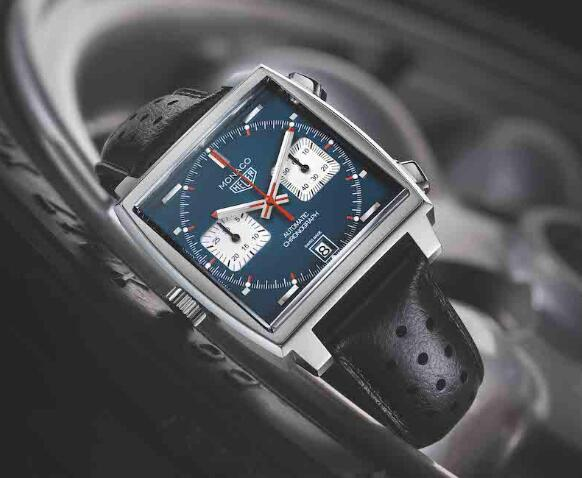 The timepiece is created to pay tribute to the original Monaco.