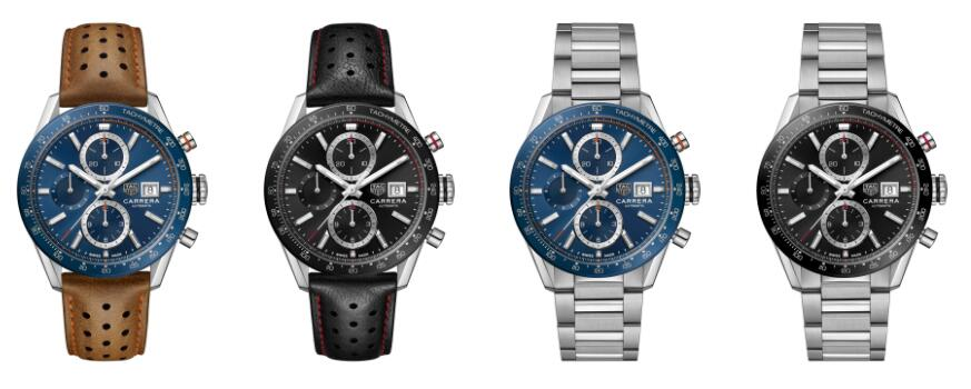 The timepieces are with sporty design and low price.