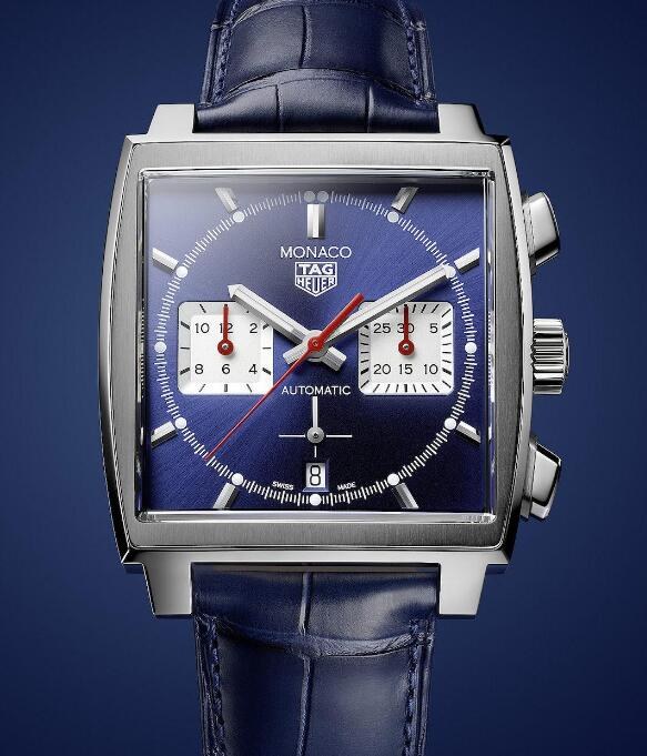 The iconic squre case and sub-dials make Monaco very recognizable.