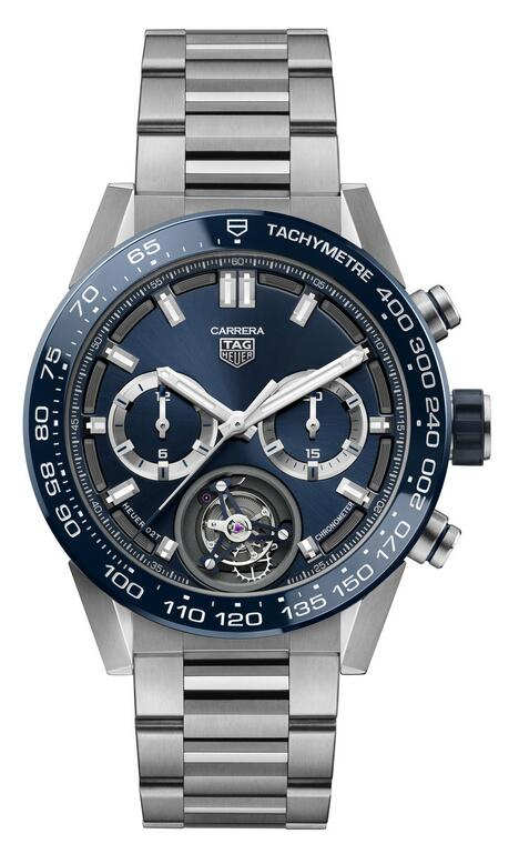 Top performance of the replica watches online is assured by Calibre Heuer 02T.